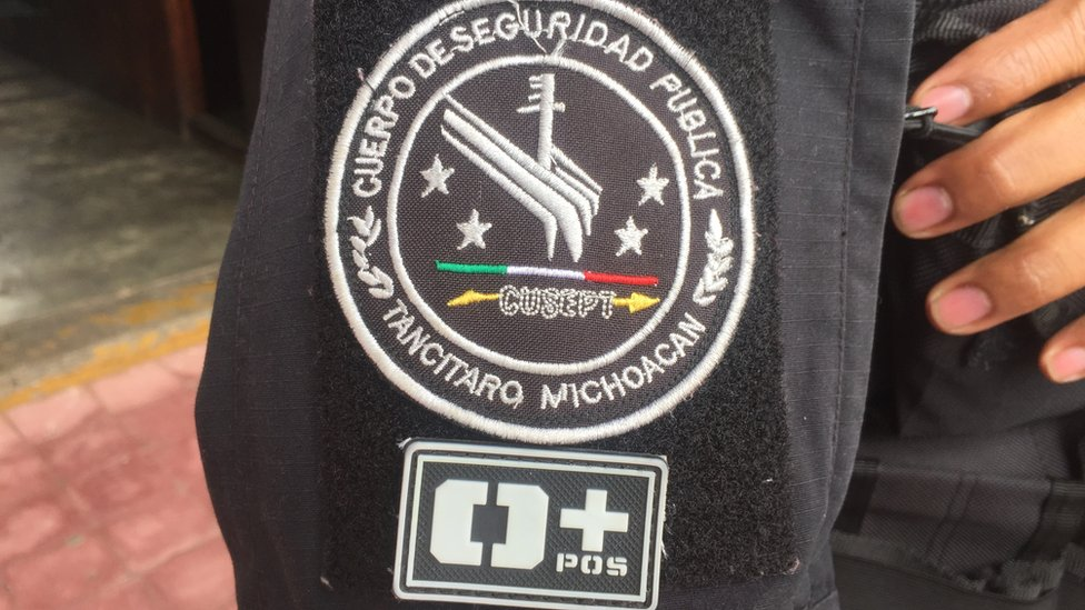 A view of a CUSEPT badge