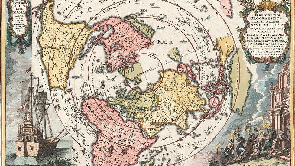 La primera vuelta al mundo: el brutal viaje de Magallanes y Elcano hace 500  años en el que solo sobrevivieron 18 de los 250 tripulantes - BBC News Mundo