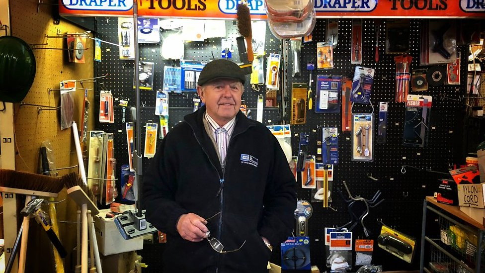 Hardware store Gregory Pank closing down in Birmingham