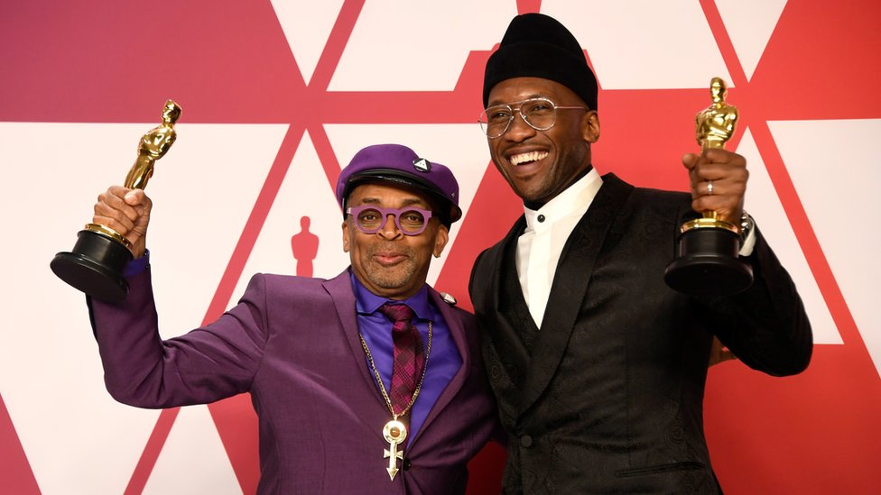 Spike Lee and Mahershala Ali