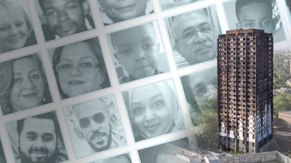 Grenfell Tower facewall promo