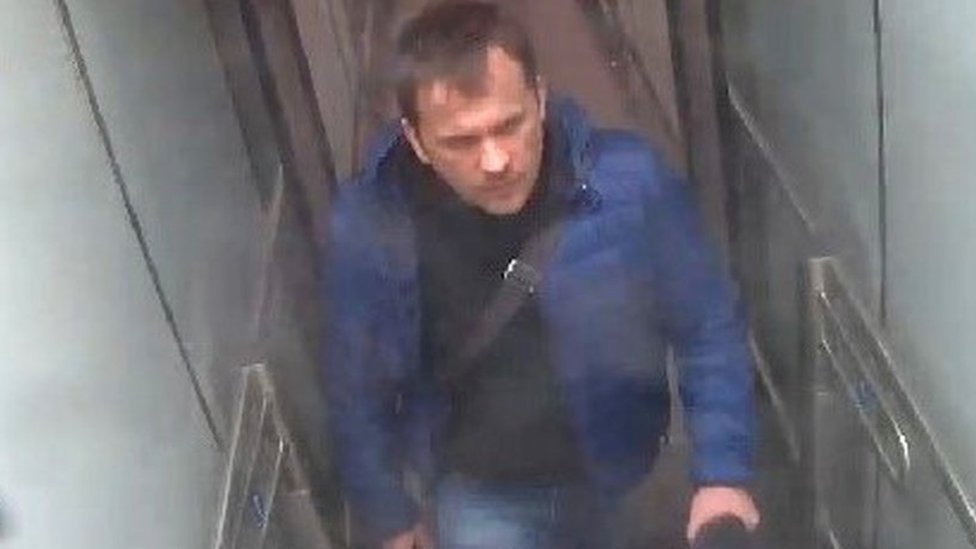 CCTV footage of man identified as Alexander Mishkin