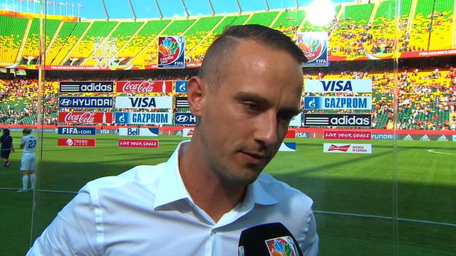 Women's World Cup 2015: Sampson praise for 'hero' Bassett