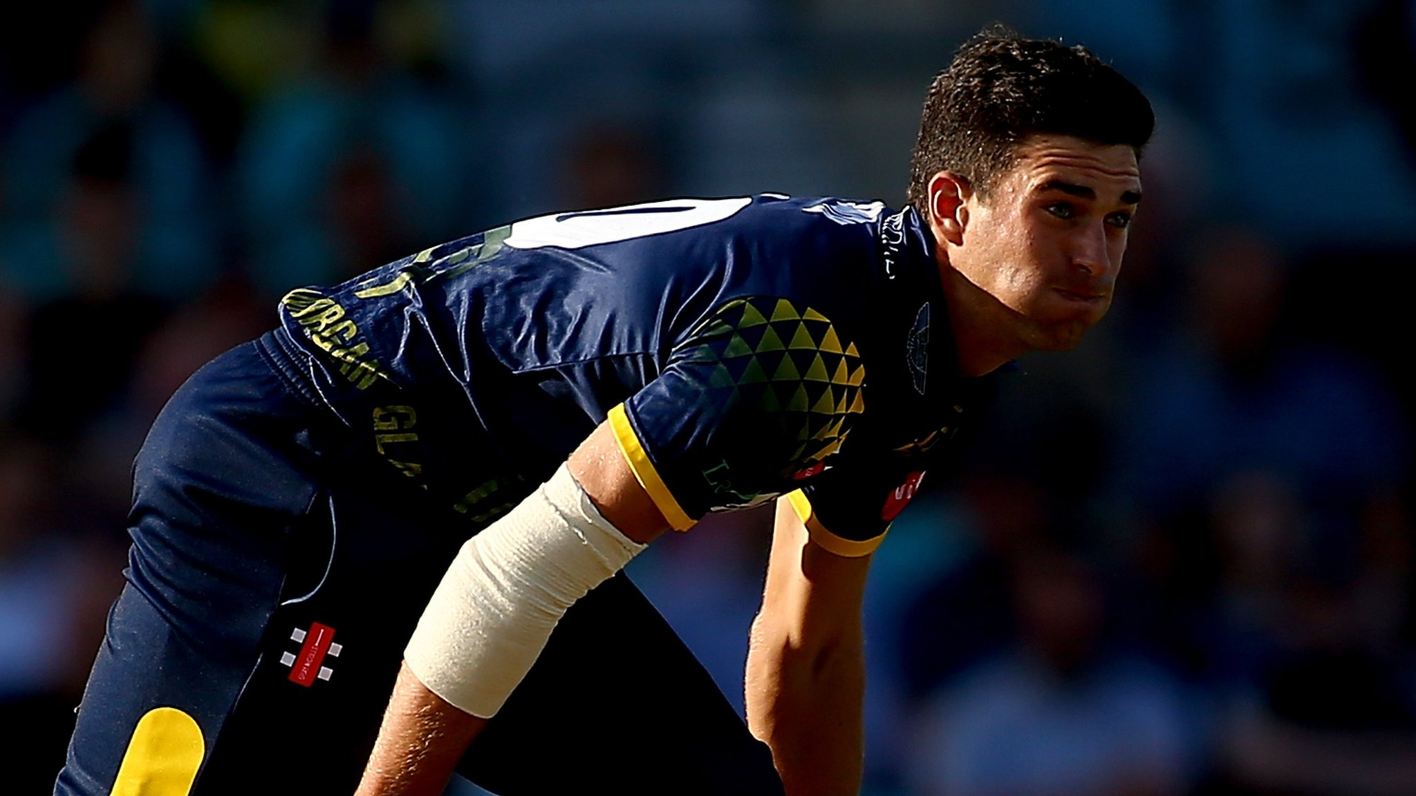 Glamorgan Cricket: Bowler Ruaidhri Smith relishing Scotland experience