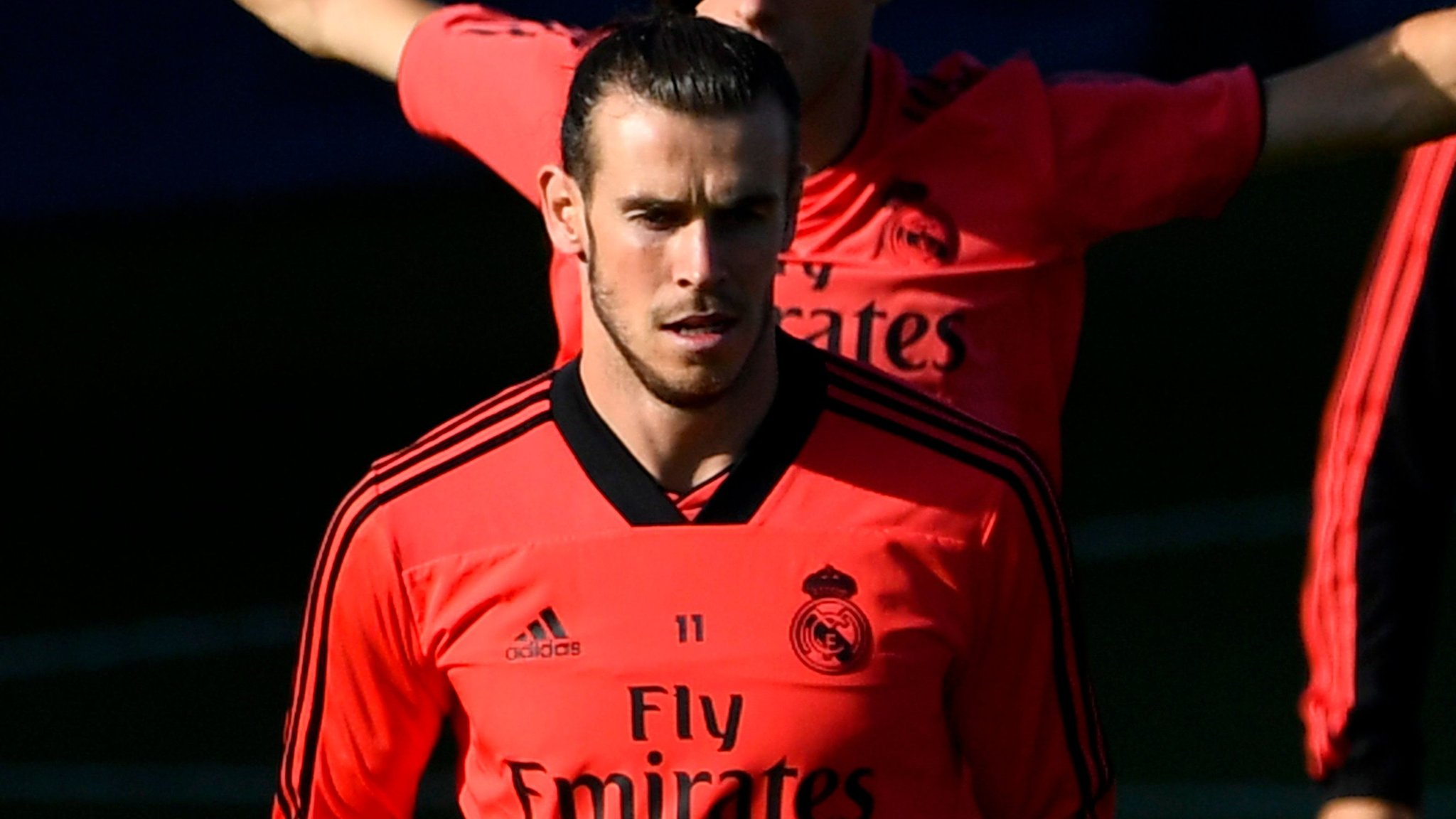 Real's Bale trains before Viktoria Plzen tie