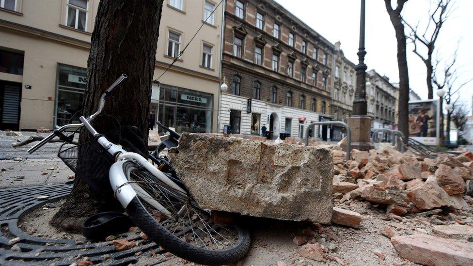 Zagreb posledice zemljotresa