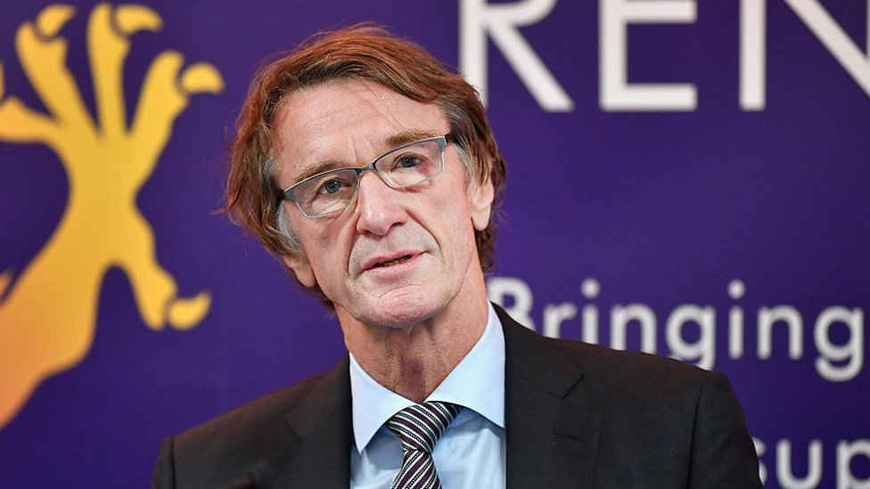 Jim Ratcliffe, director y fundador de Ineos.