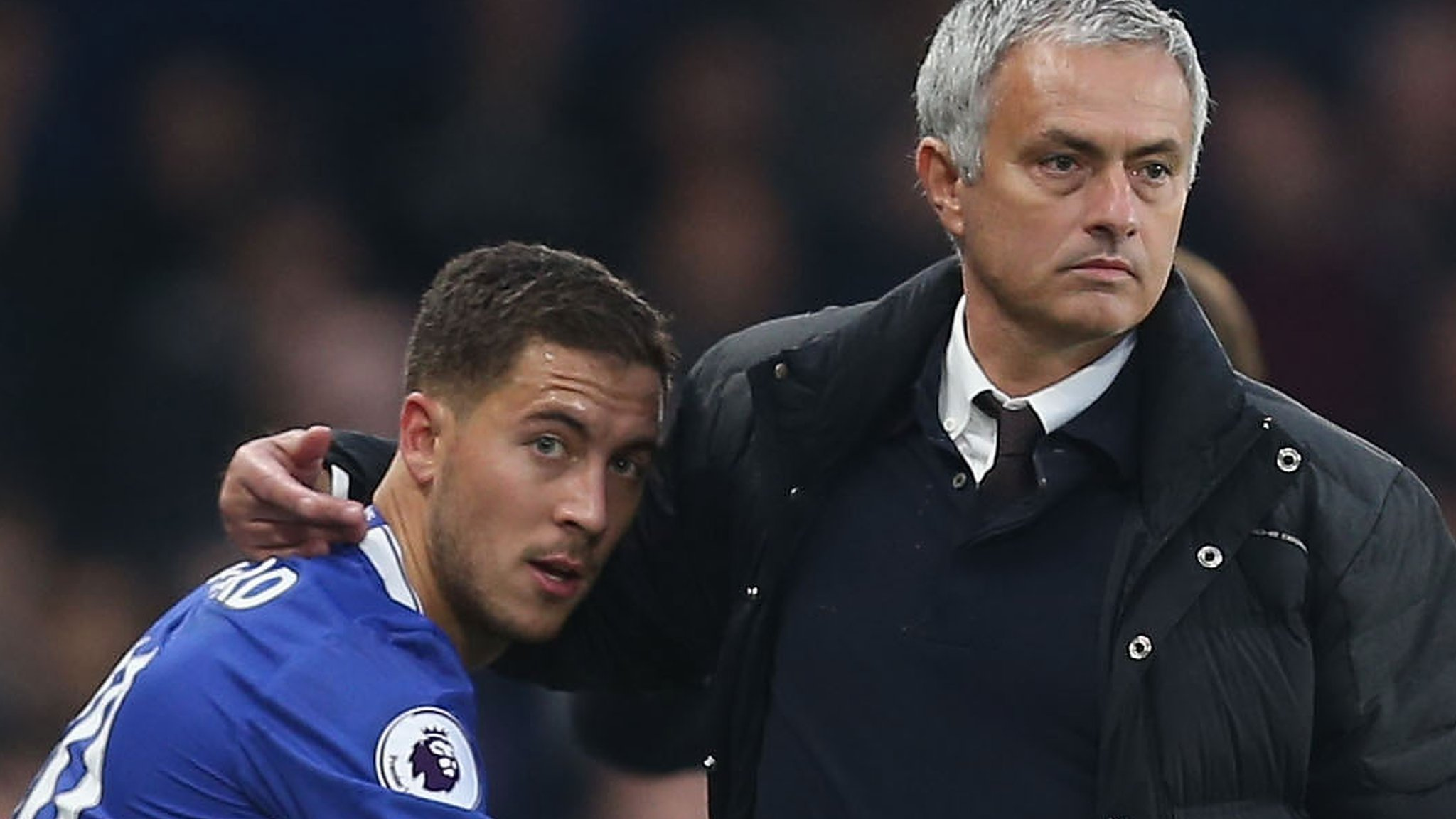 Jose Mourinho: Manchester United boss says he would love to sign Eden Hazard