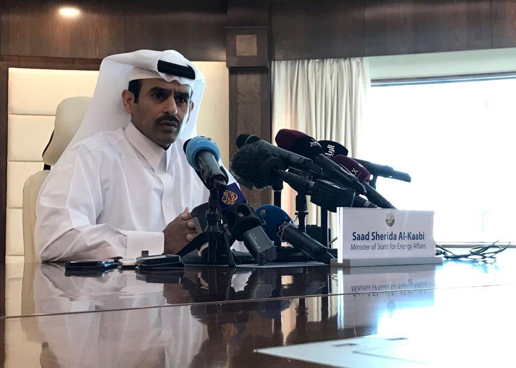 وزير الطاقة القطري سعد شريدة الكعبي، يعلن انسحاب قطر من منظمة الأوبك 3 ديسمبر/كانون الأول 2018.