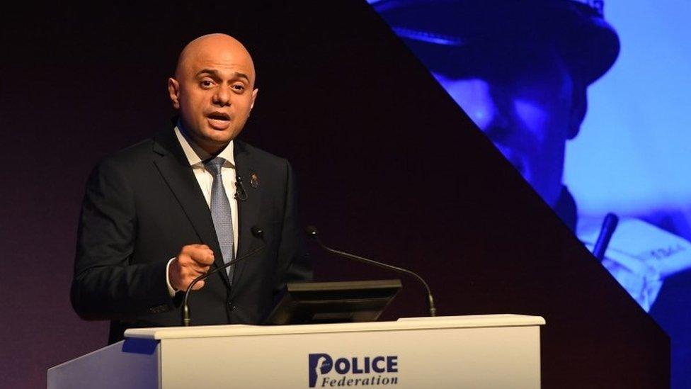 Sajid Javid tells police: 'I'm listening'