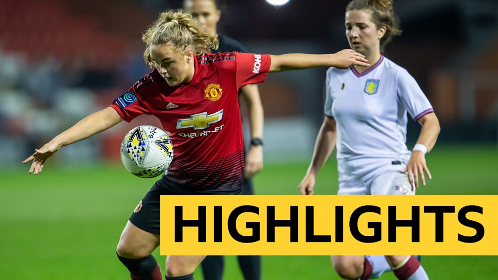 Highlights: Manchester United beat Aston Villa 5-0 to earn WSL promotion