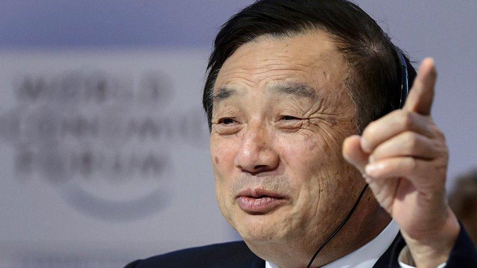 El fundador de Huawei, Ren Zhengfe