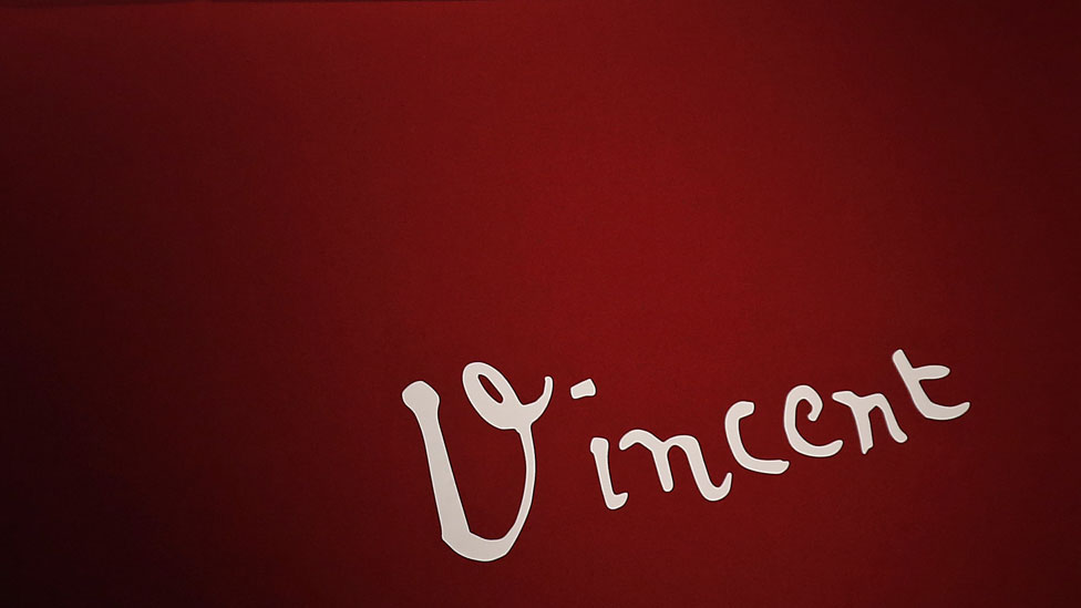 Firma de Vincent van Gogh