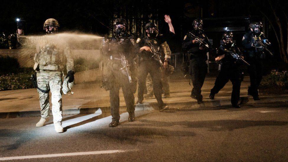 مظاهرات بورتلاند