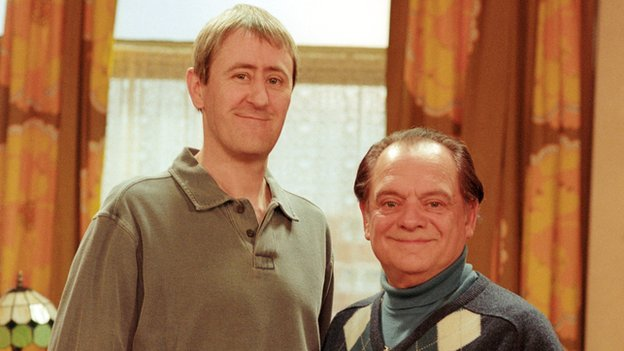 David Jason and Nicholas Lyndhurst in Only Fools and Horses