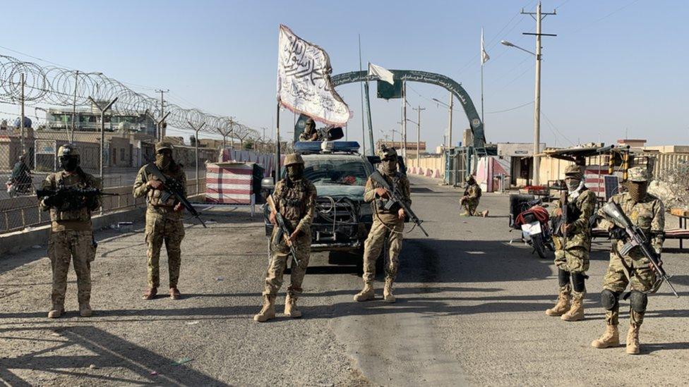 Pasukan Taliban di Lashkar Gah