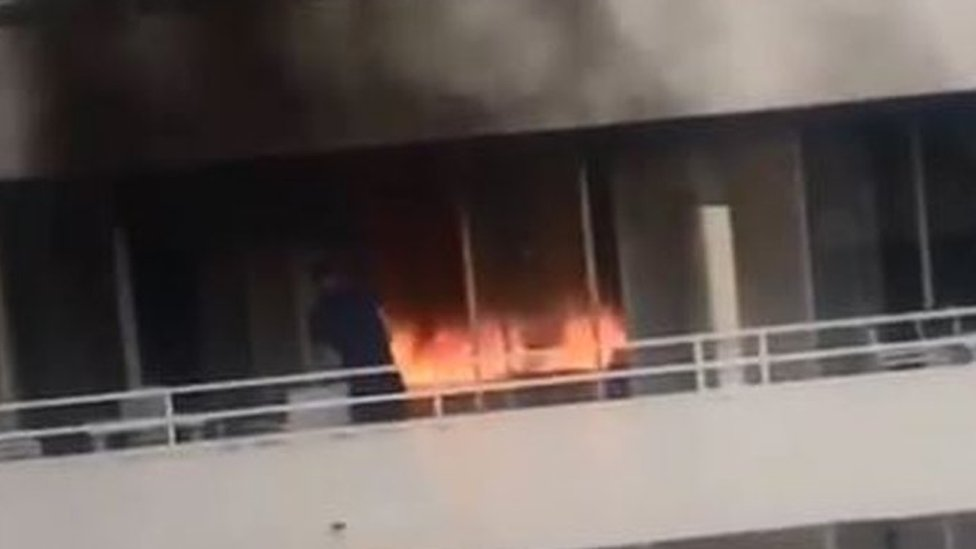 Magaluf hotel fire: Four Brits appear in Spanish court
