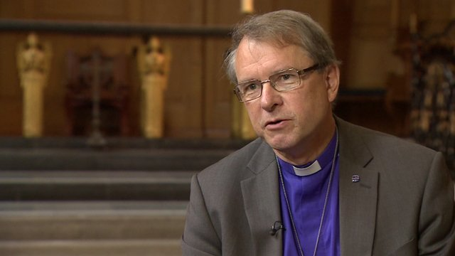 Bishop of Durham, the Rt Rev Paul Butler