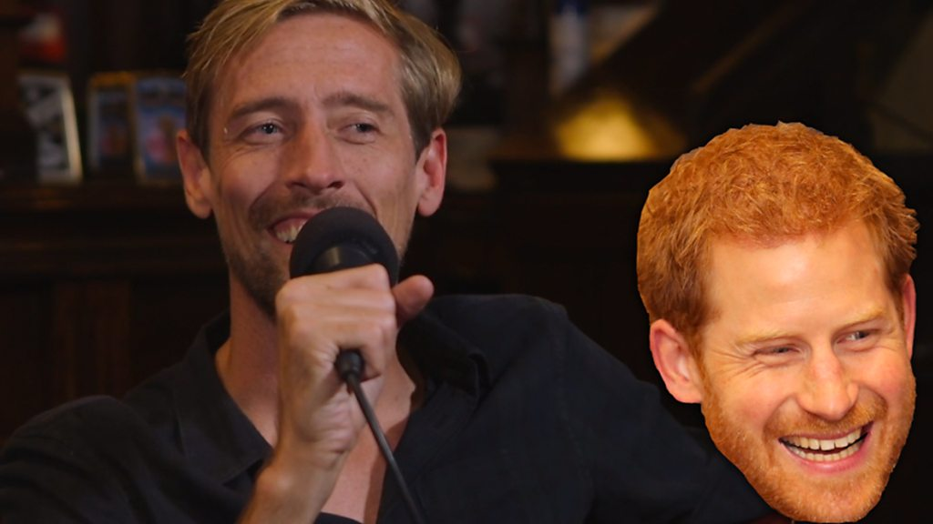 That Peter Crouch Podcast: When Prince Harry 'dissed' Peter Crouch