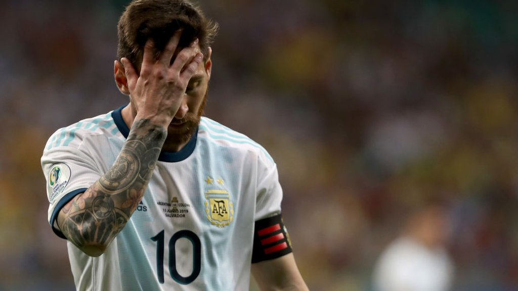 Argentina 0-2 Colombia: Lionel Messi's side 'feeling bitter' after Copa America defeat