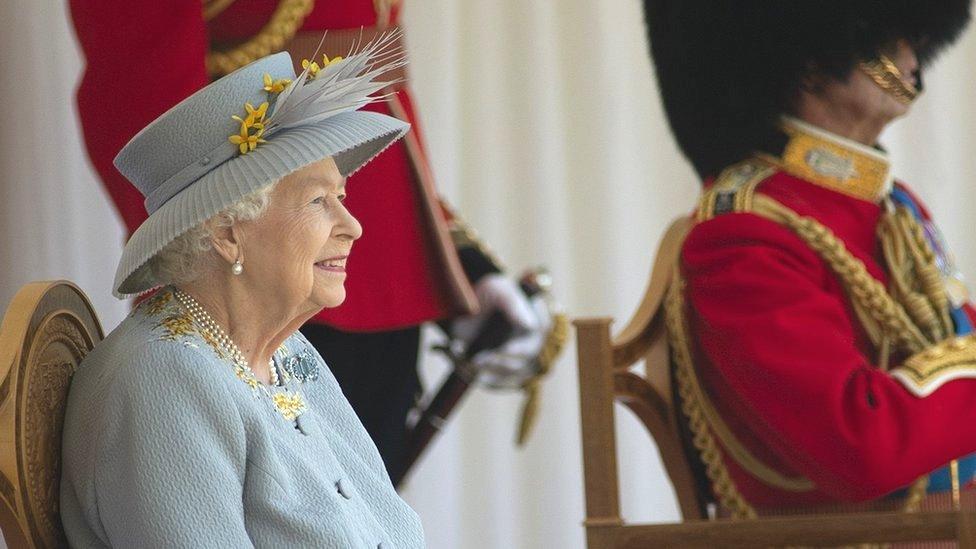 Kraljica Elizabeta Druga, Vindzor, 2021.