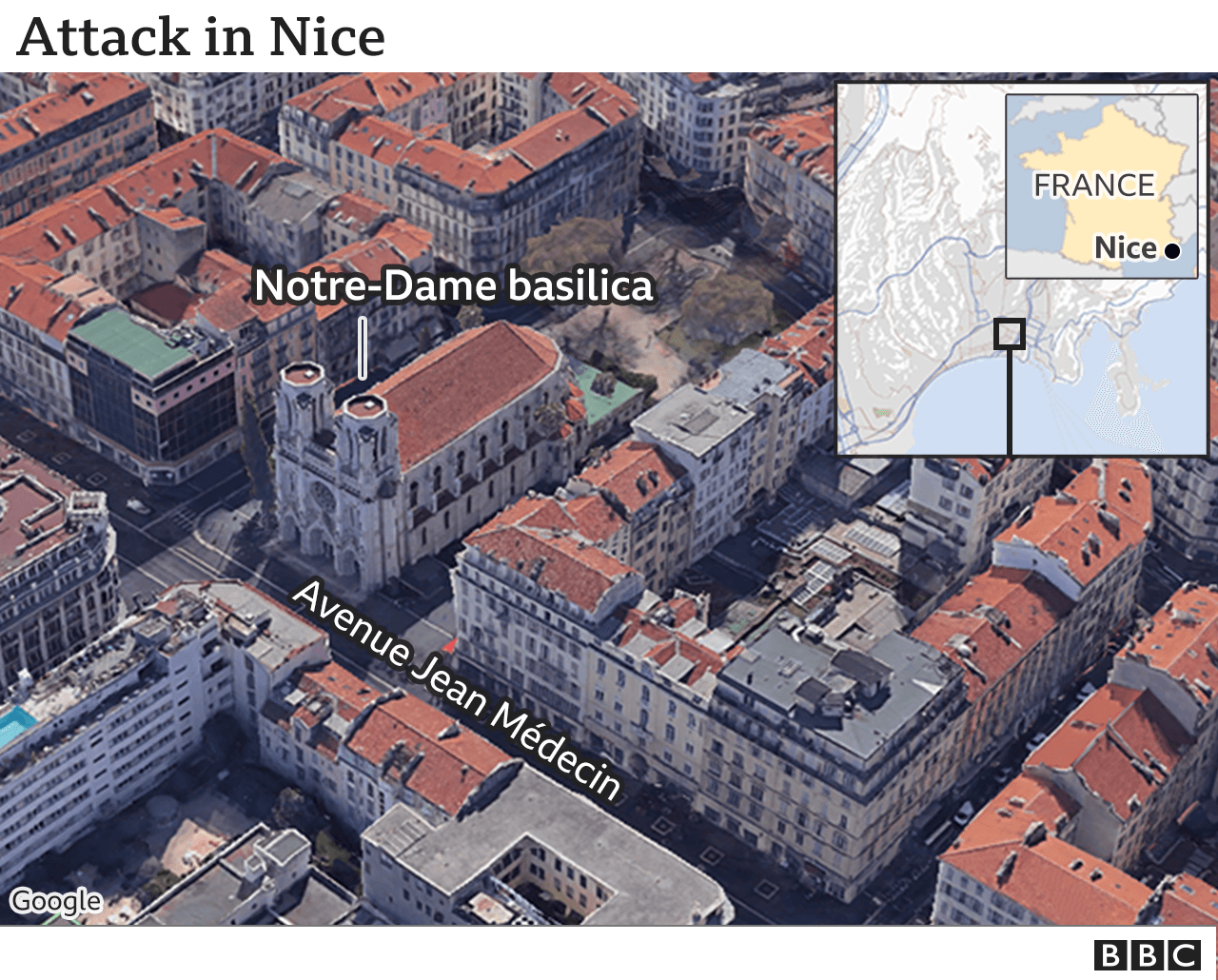 France attack: Deadly stabbing in Nice 'is terrorism', says mayor thumbnail