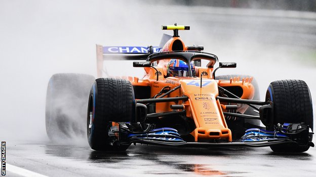 Lando Norris of McLaren