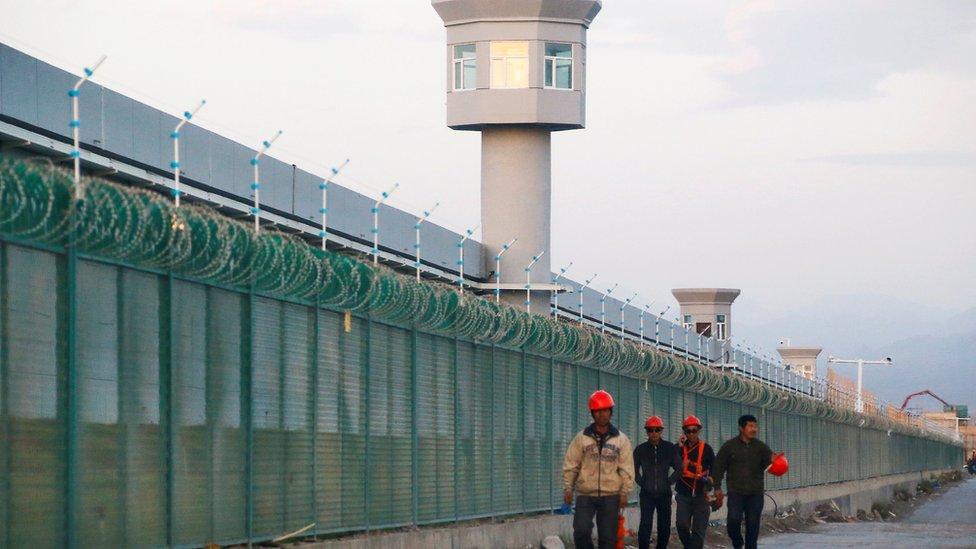"Centro de ""reeducación"" para uigures"
