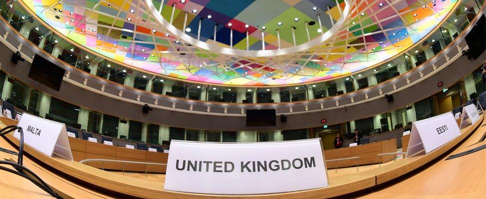 Najveća sala u sedištu Evropskog saveta u Breiselu