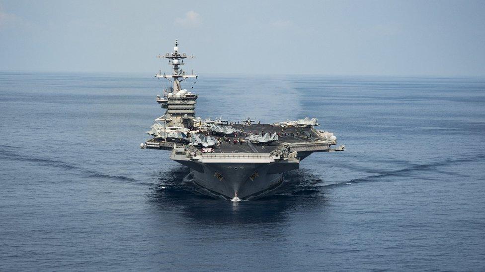 США были главной военной силой в Азии. Но теперь этому приходит конец