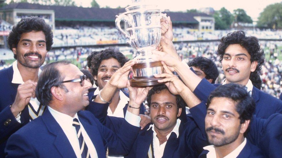 1983 की विश्व कप विजेता भारतीय टीम