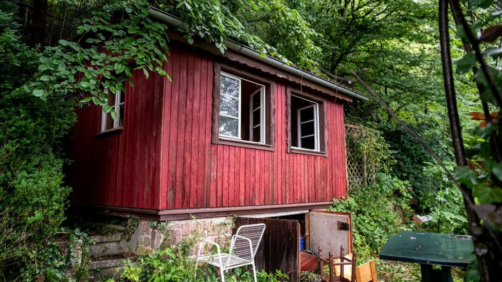 Yves Rausch's hut near Oppenau