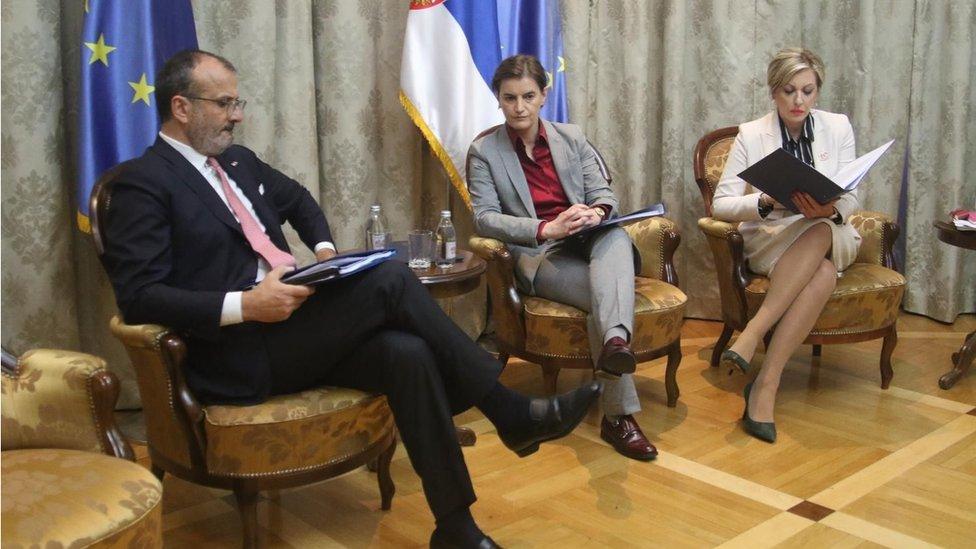 Sem Fabrici, Ana Brnabić, Jadranka Joskimović
