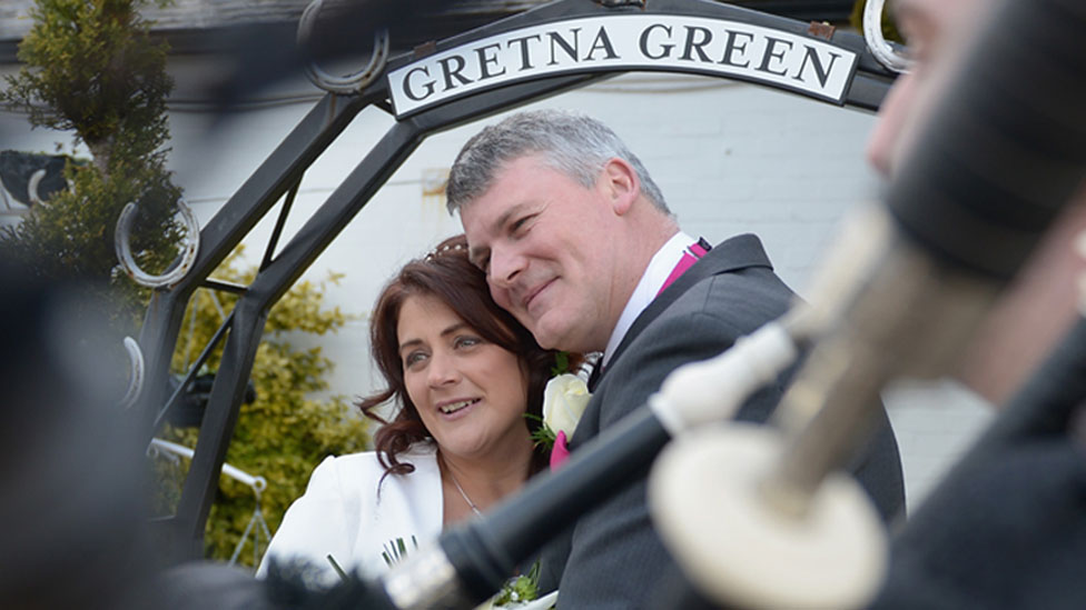 Couple at Gretna