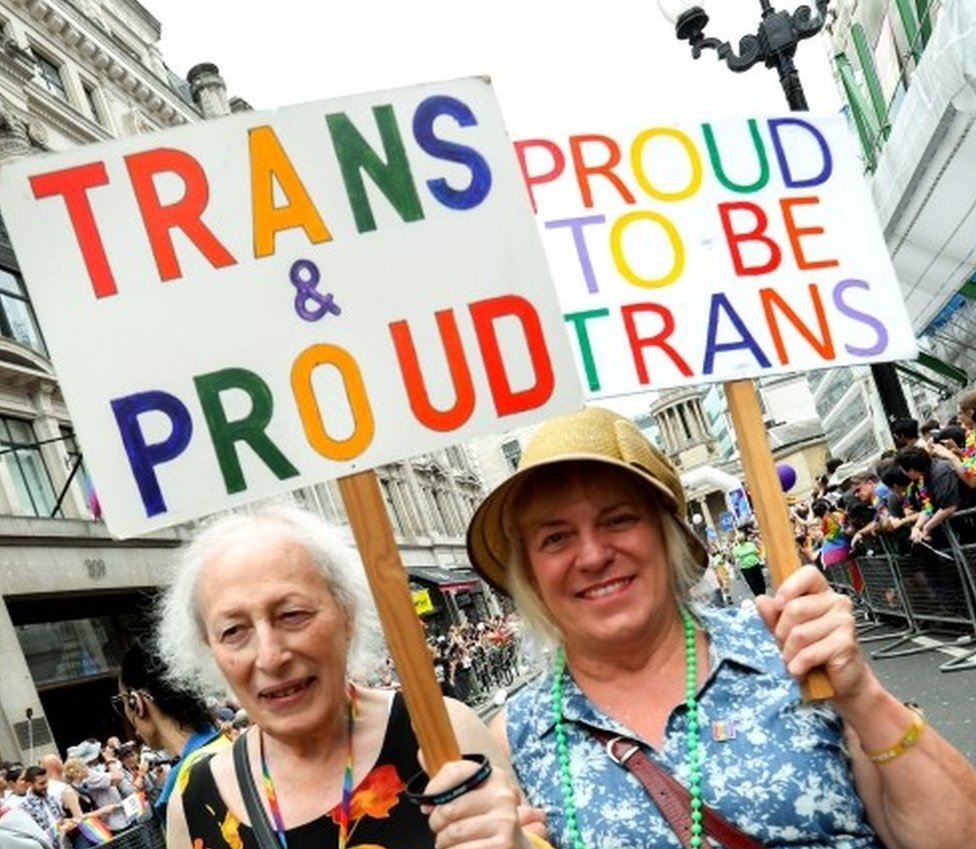 Participants at this year's Pride