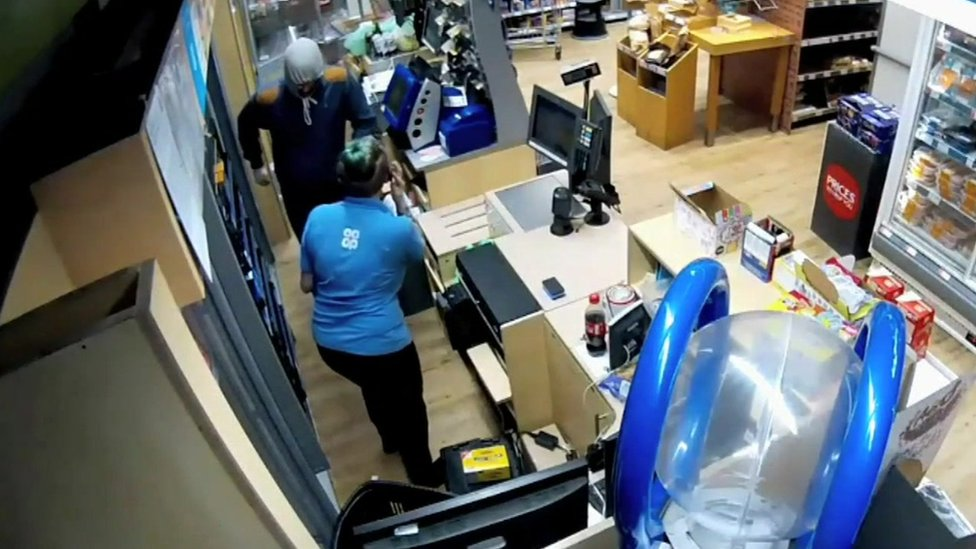 Co-op store attack