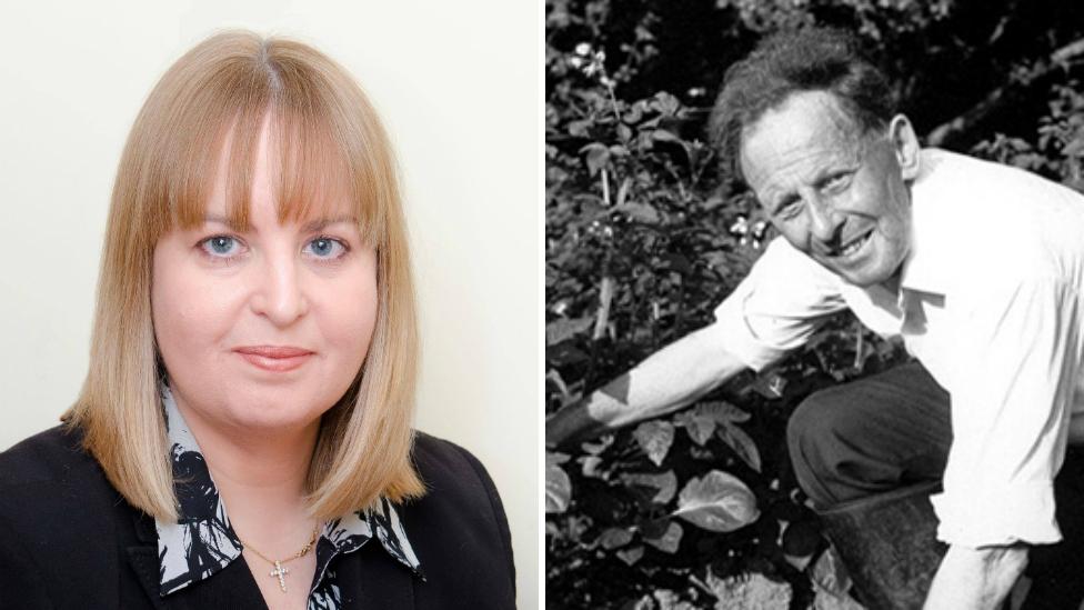 Samantha Calvert and Donald Watson
