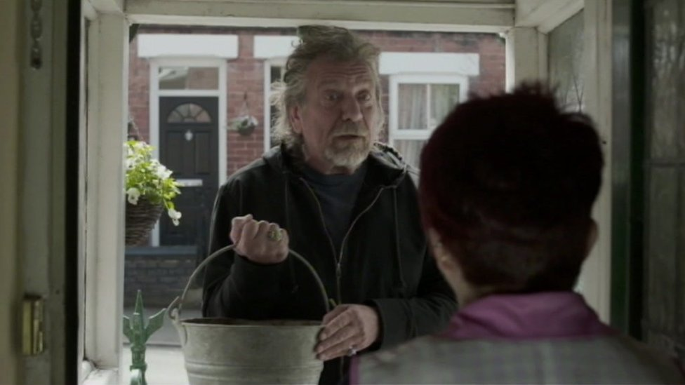 Robert Plant in a scene from Doreen The Movie