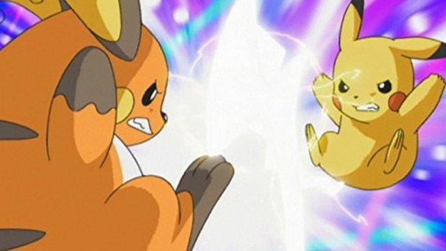 Fotograma de la serie Pokémon de los años 90