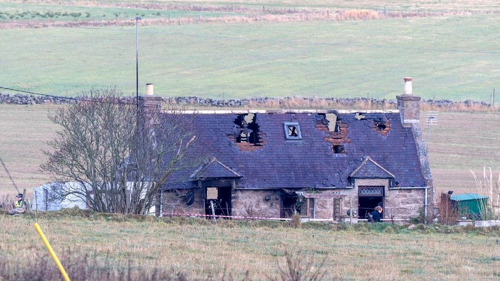 'Loving mother' dies in Peterculter farmhouse fire