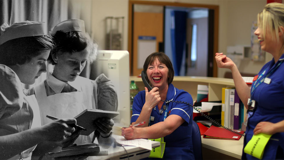 NHS: 70 years in pictures