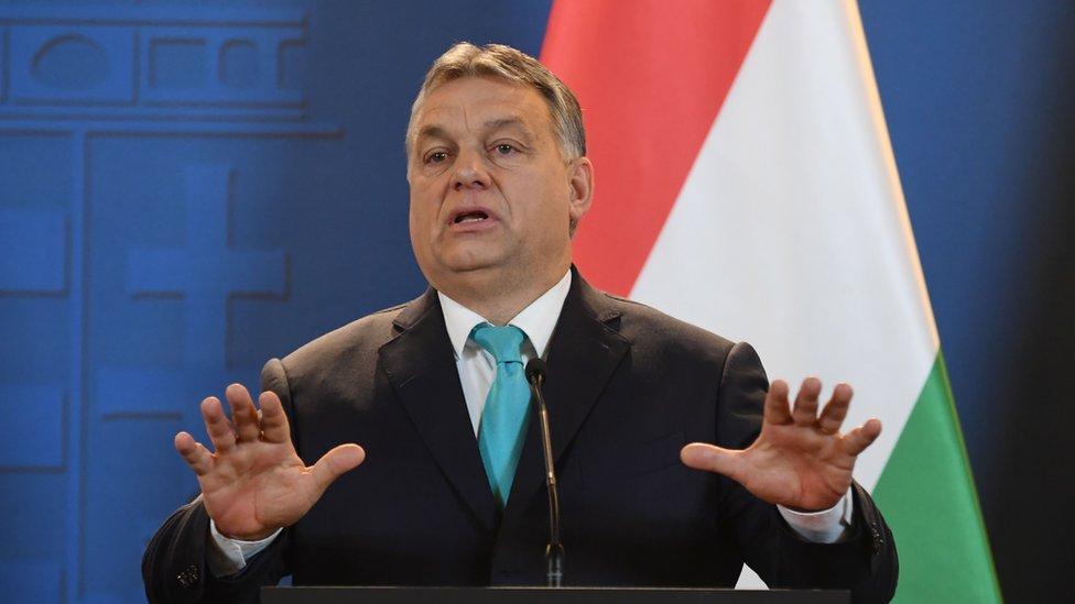 Hungarian PM Viktor Orban, 3 Jan 18