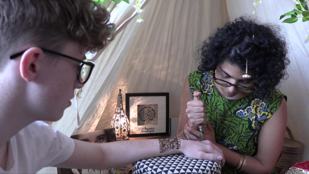 Can non-Asian people get henna tattoos?