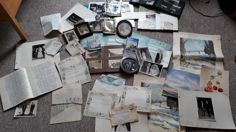Exeter student tracks down family of mystery 'dumped' archive