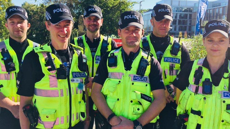 Northamptonshire Police campus team