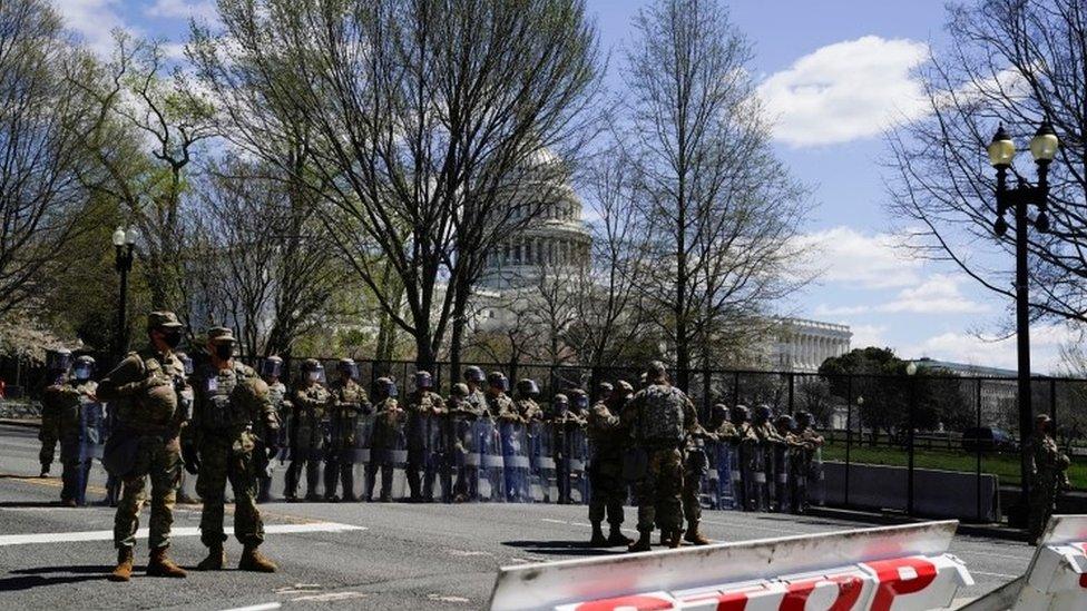قوات الحرس الوطني أمام الكونغرس