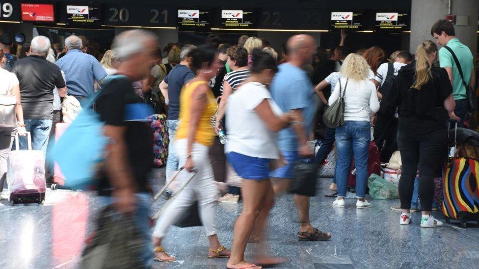 Türkiye'de ingiliz turistler