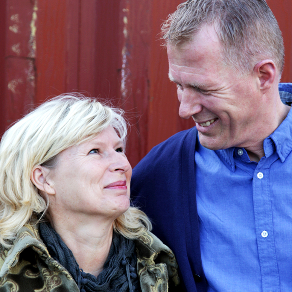 Ineke and Kees Veldboer started the foundation at the kitchen table - now they have helped thousands