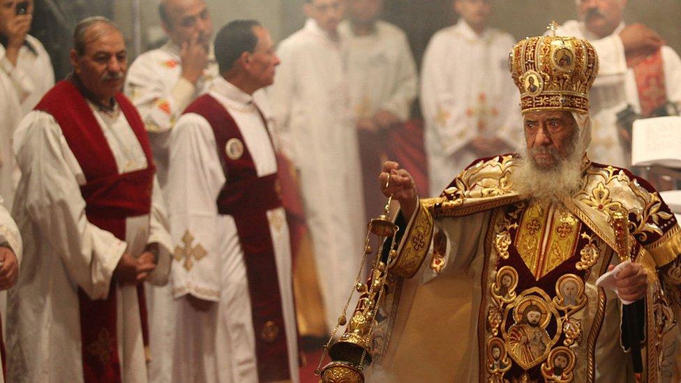 البابا شنودة (أرشيفية)