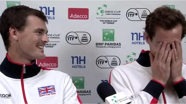 Jamie and Andy Murray face questions to see how well they know each other